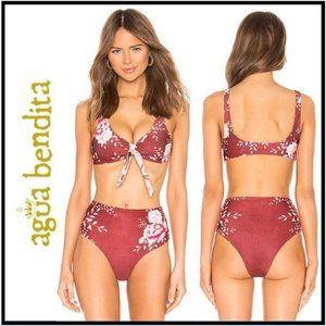 NWT Agua Bendita Grace Bikini Top Size Medium